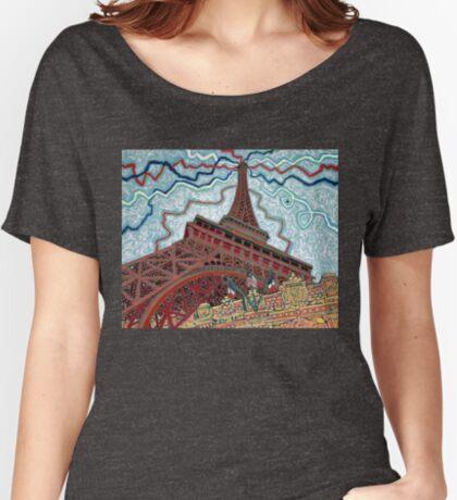 Paris, France, Las Vegas, Nevada, USA Relaxed Fit T-Shirt