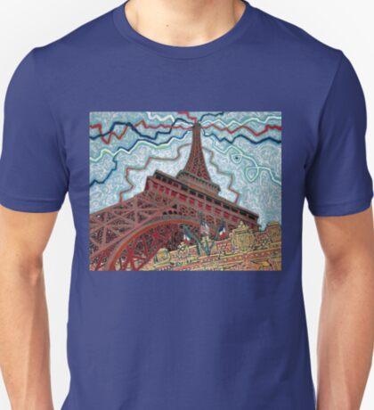 Paris, France, Las Vegas, Nevada, USA T-Shirt