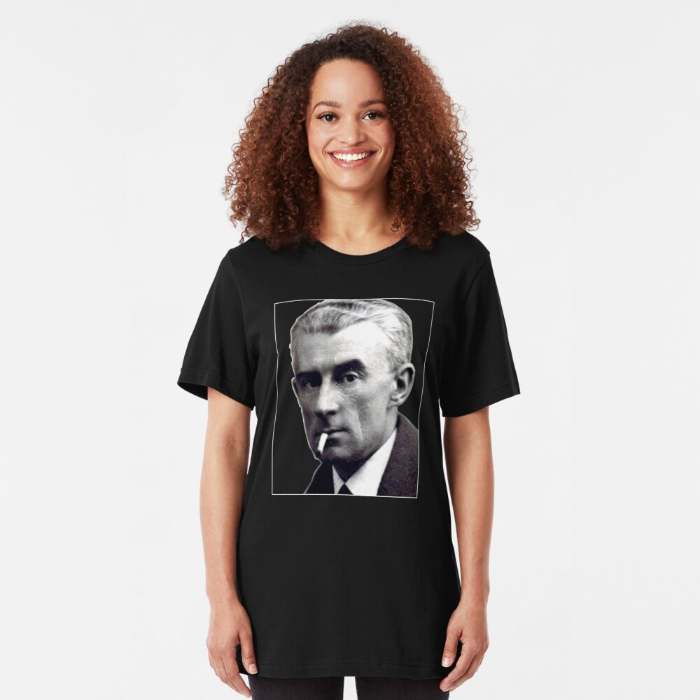 Maurice Ravel - Great French Composer Slim Fit T-Shirt