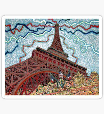 Paris, France, Las Vegas, Nevada, USA Sticker