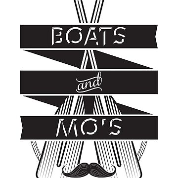 Boats and Mo's by lainefirth