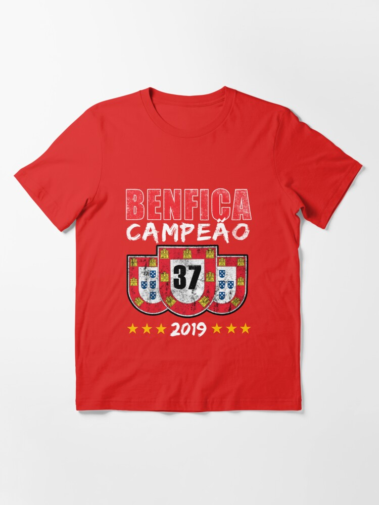 BENFICA CAMPEAO CHAMPIONS 2019 Fans Soccer Football Portugal T-Shirt