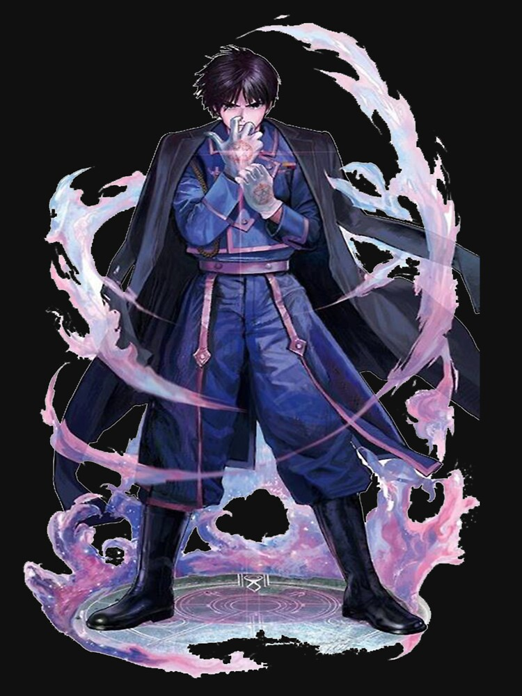 the flame alchemist Roy Mustang by elfercar