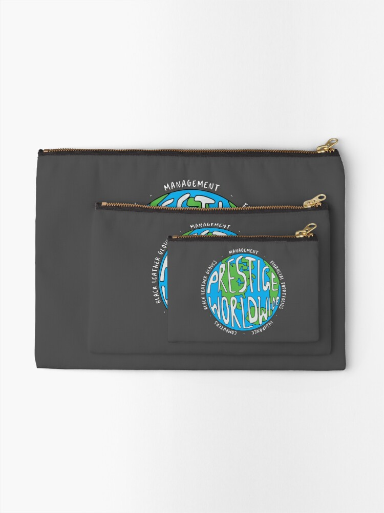 Alternate view of Step Brothers | Prestige Worldwide Enterprise | The First Word In Entertainment | Original Design Zipper Pouch