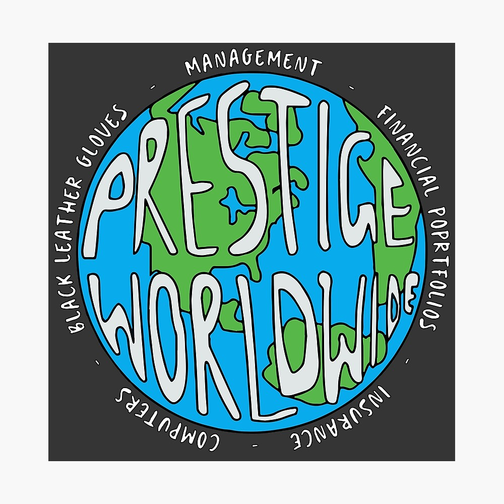 Step Brothers | Prestige Worldwide Enterprise | The First Word In Entertainment | Original Design Photographic Print