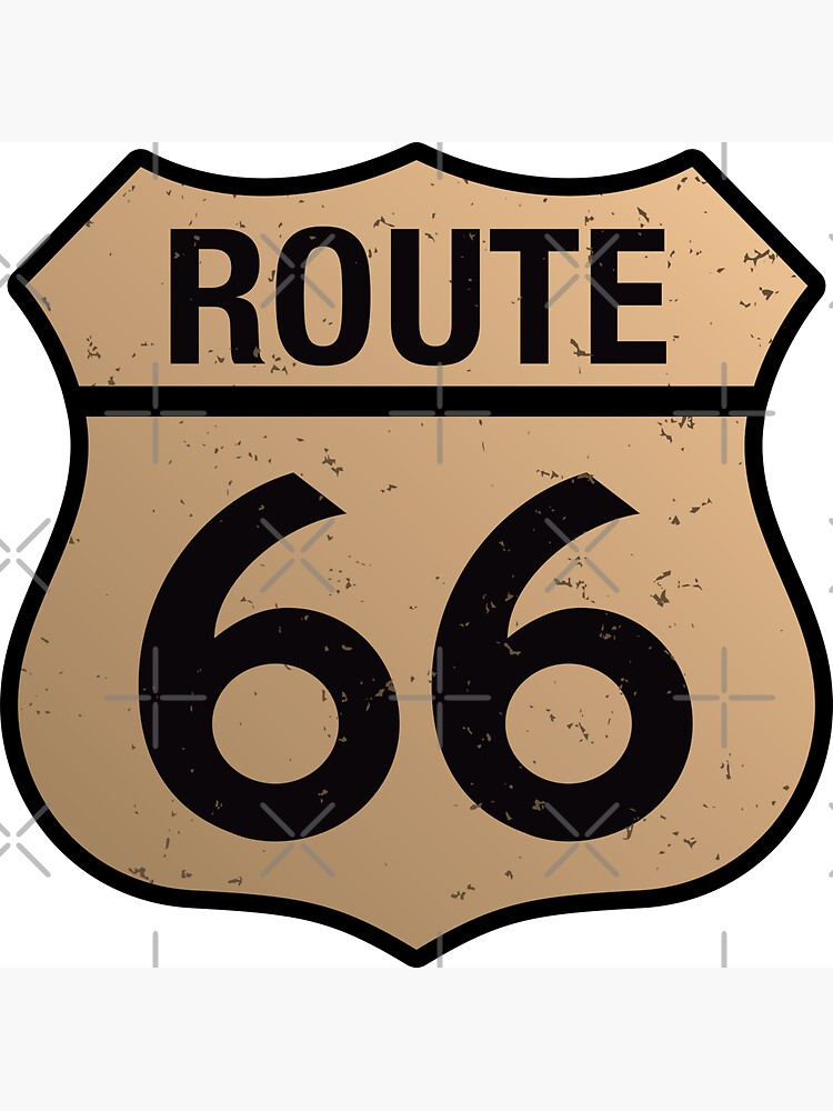 Route 66 by hobrath