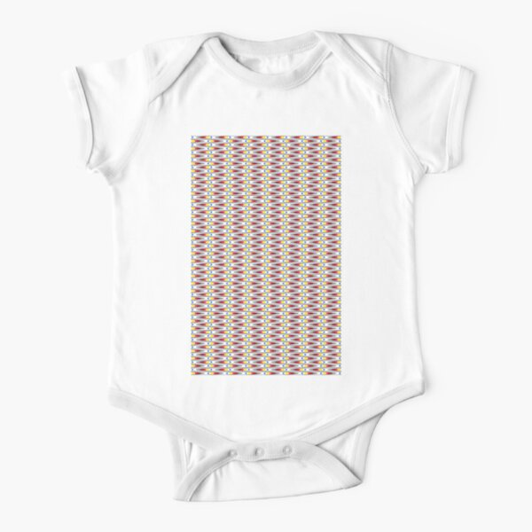 Visual Illusion #VisualIllusion Optical #OpticalIllusion #percept #reality Image Apparent Motion Short Sleeve Baby One-Piece