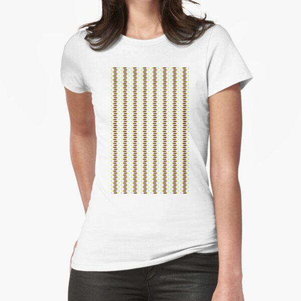 Visual Illusion #VisualIllusion Optical #OpticalIllusion #percept #reality Image Apparent Motion Fitted T-Shirt