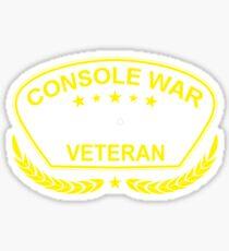 Console War Veteran Sticker