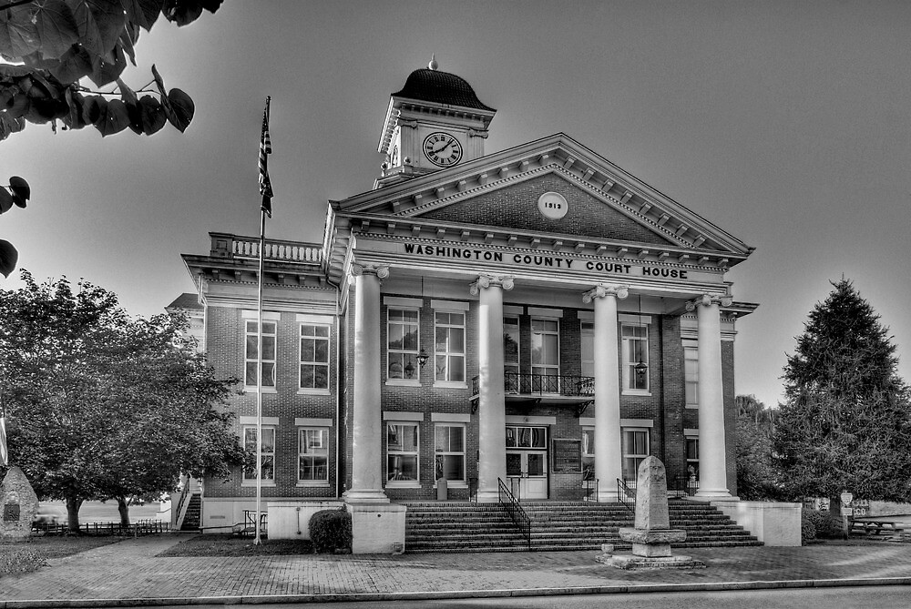 Washington County Courthouse by C David Cook