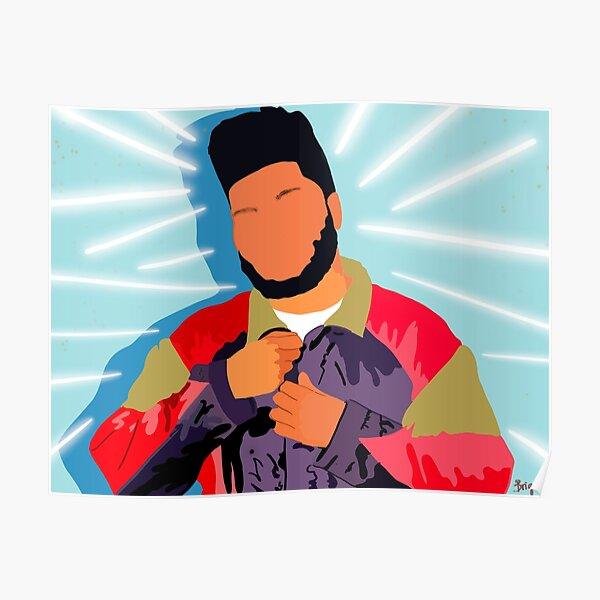 khalid art Poster