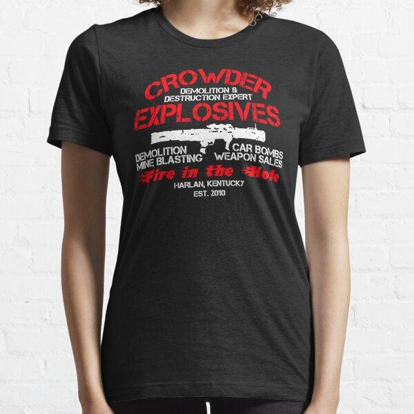 Crowder Explosives Justified Funny Humor Hoodie / T-Shirt Essential T-Shirt