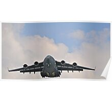 C-17 on final approach  Poster