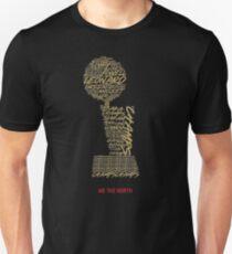 Raptors Champs Championships-Trophäe Slim Fit T-Shirt