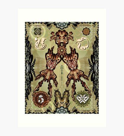 Money Folk Art Print