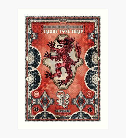Vlad's Pet Art Print