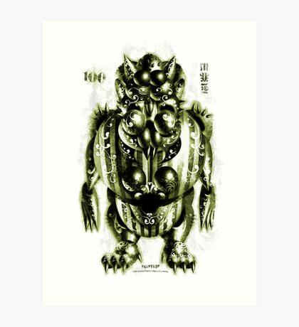 Monster - Molly Maligned Art Print