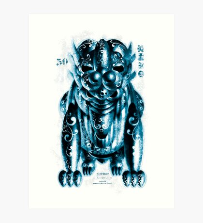 Monster - Tedious Ted Art Print