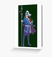 Officer  Greeting Card