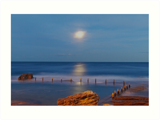 Moonrise by Mark  Lucey