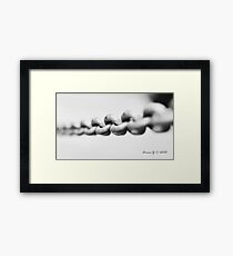 Chain mail Framed Print