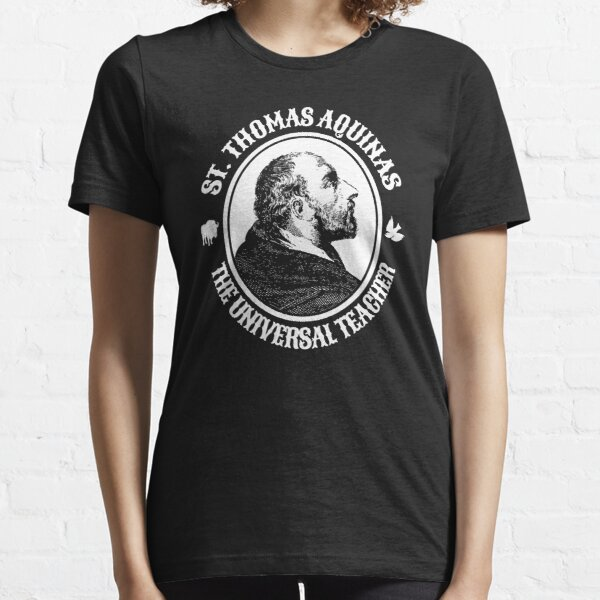Thomas Aquinas Catholic Saint Catholicism Christian Gift Essential T-Shirt