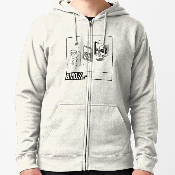Adventure Time BMO Zipped Hoodie