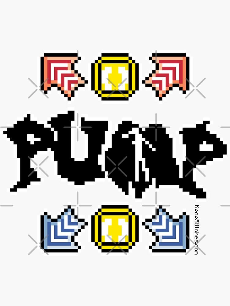 Pump It Up Dance Game pixel Andamiro Korean kpop k-pop BanYa by dubukat