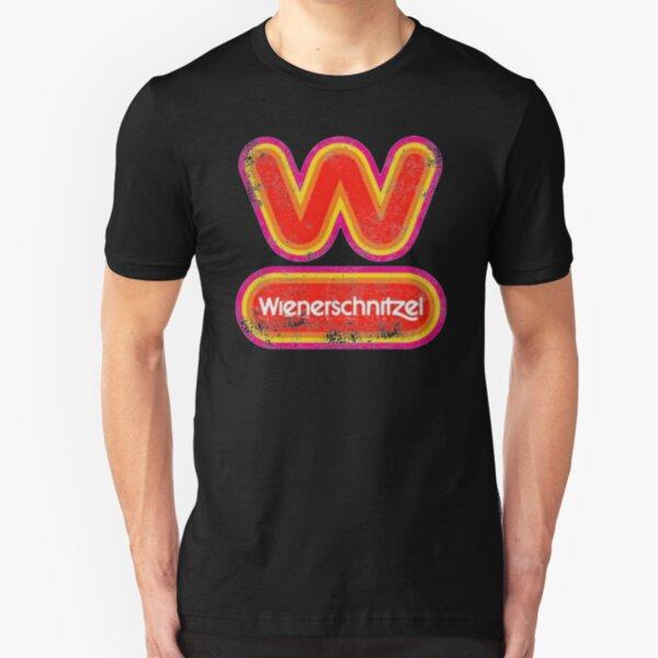 Wienerschnitzel (vintage 80s) Slim Fit T-Shirt