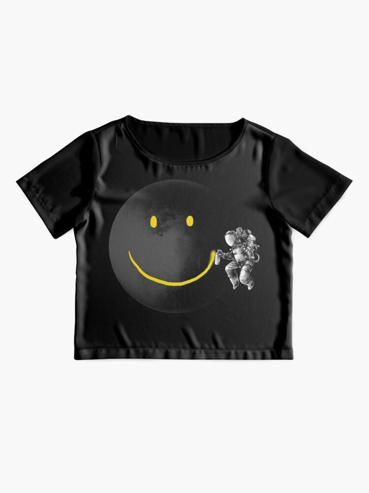 Alternate view of Make a Smile Chiffon Top