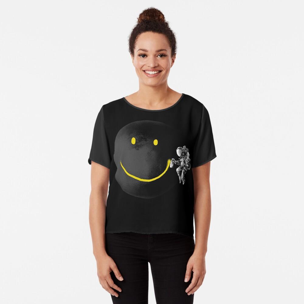 Make a Smile Chiffon Top