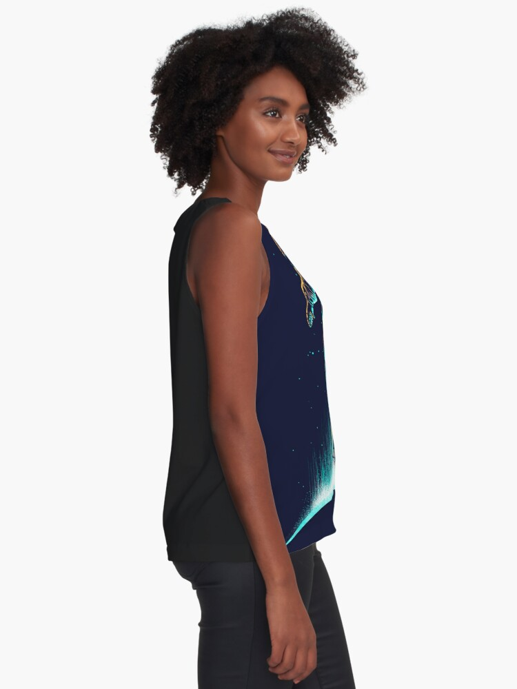 Alternate view of Space Grind Sleeveless Top