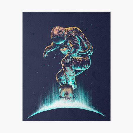 Space Grind Art Board Print
