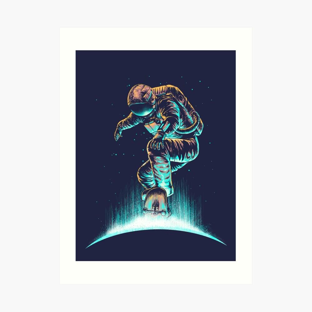 Space Grind Art Print