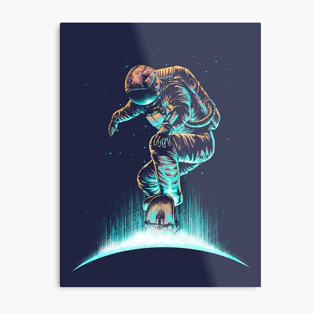 Space Grind Metal Print
