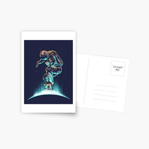 Space Grind Postcard