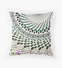 Olives and Wine mandala Throw Pillow