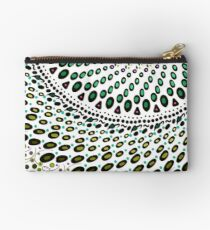 Olives and Wine mandala Zipper Pouch