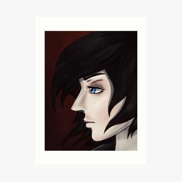 Ares Side View Art Print