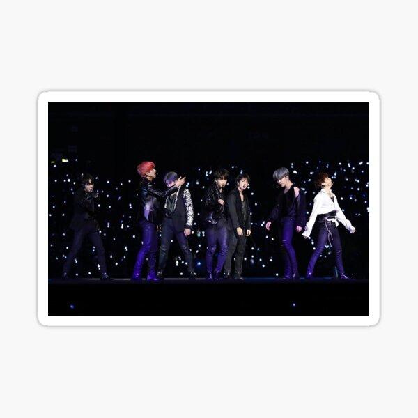 BTS Festa 2019 foiled matte stickers