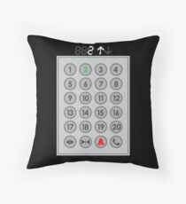 Elevator Mechanic Number Pad Floor Pillow