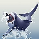 Great White Shark by Tami Wicinas