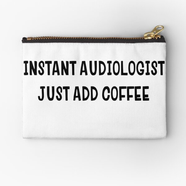 Instant audiologist coffee sticker