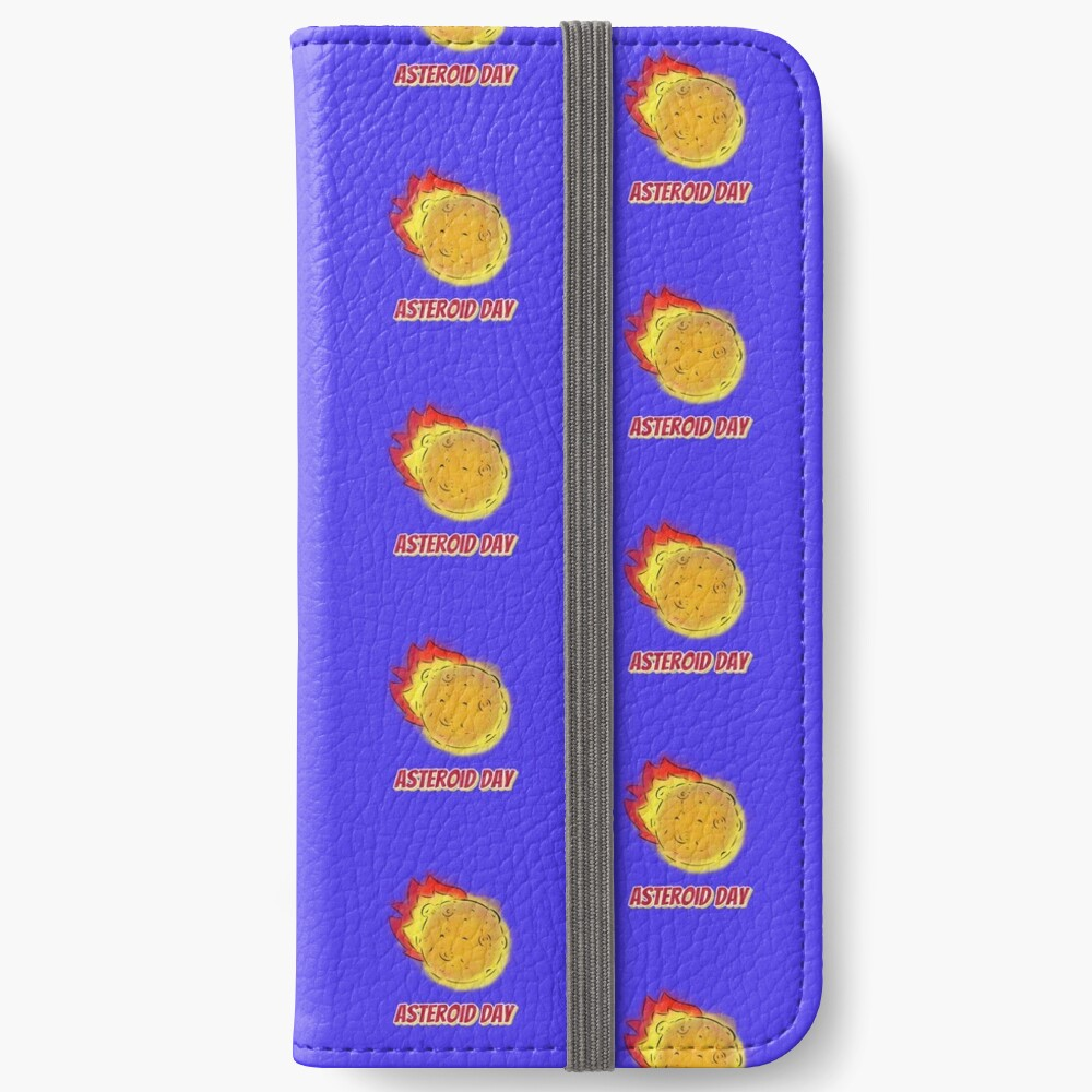 AsteroidDay iPhone Wallet