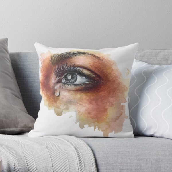 Hoping To See The Sun Throw Pillow