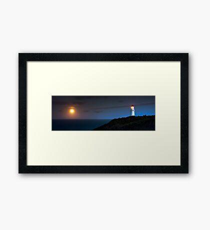 Cape Schanck Lighthouse by Night Framed Print