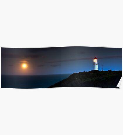 Cape Schanck Lighthouse by Night Poster