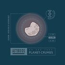 Asteroids are Planet-crumbs by Abigail Lamb