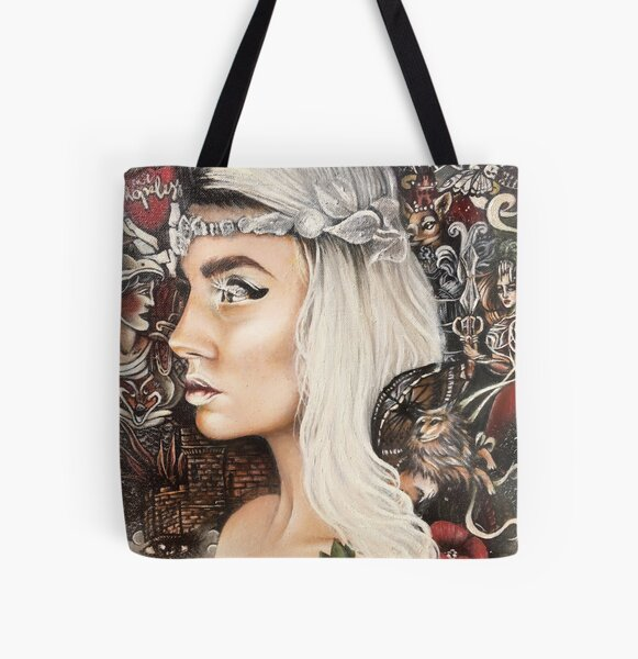 Kim All Over Print Tote Bag