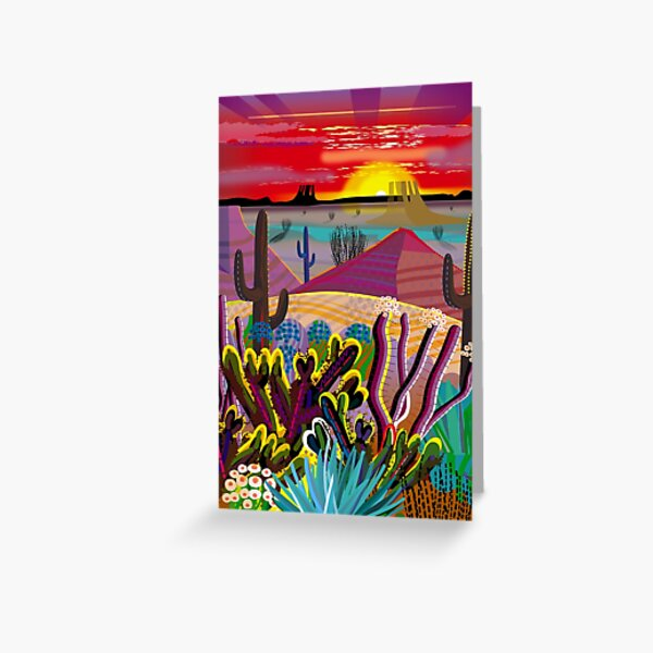 The Desert in Your Mind Greeting Card